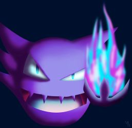 Haunting flame (Colored) by MSwope