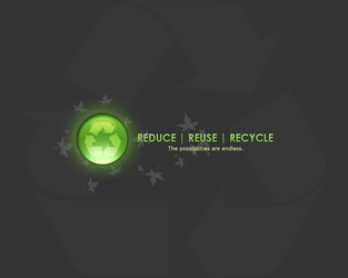Recycle Wallpaper by Kezzi-Rose