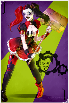 Harley Quinn Fan Art by Bostonology