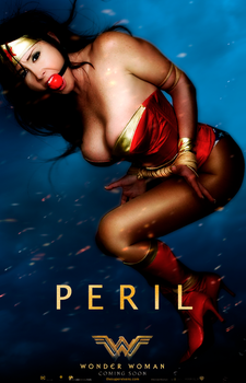 Wonder Woman Peril Poster by TheSupervixens