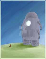 Robot 14 colored by torsoboyprints