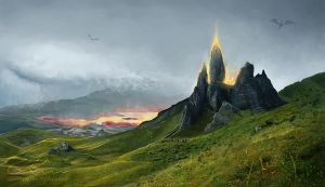 The Old Man of Storr by vlean