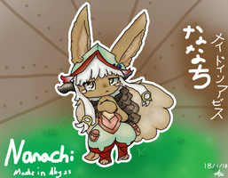 Nanachi from anime 'Made in Abyss' by Artikyuu