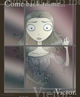 Corpse Bride _ Night Without U by IslaDelCoco