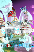 Ponyville Ghostbusters Poster by Shiki01