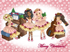 Carol singing band by Wingsie