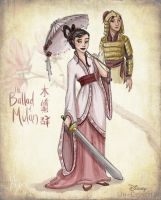 Disney Un-Disneyed: Hua Mulan (P) by kuabci
