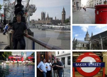 Montage: London by Daritha