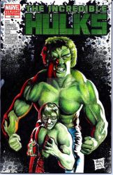 Incredible Hulks Sketch Cover commission by dsilvabarred