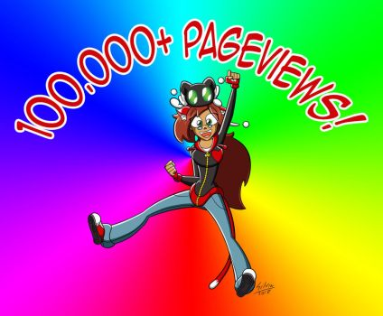 100.000+ Pageviews!! by WildGirl91