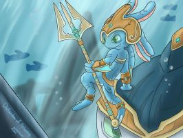 Fizz - Defender of Atlantis by NightfuryFizz