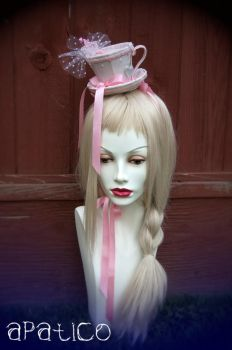 Pink Teacup Hat 2 by apatico