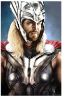 Thor by Art-by-Jilani