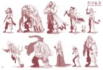 Dead in the Water Character Sketches by jeftoon01