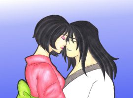 Jashi- Giving kisses by MadeInHeavenFF15