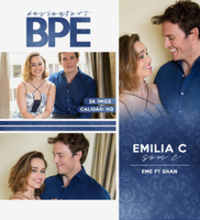 Photopack 15990 - Emilia Clark and Sam Claflin by southsidepngs
