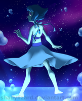 [SU]: Her name is Lapis Lazuli by Saccharinerose