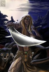 Drizzt by Anlyness
