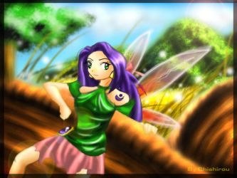 The Battle Faerie by chishirou