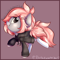 Chibi Com JaegerPony by BlueKazenate
