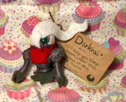 #491 Darkrai Voodoo Doll by LaPetitLapearl