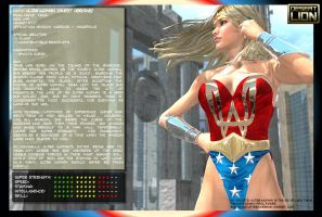 Guest Character Bio - UltraWoman by DesertLion3D