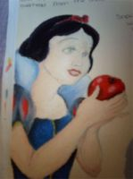 Snow White with Apple by fireextinquisher