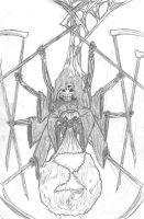 Death as a Spider by ICLHStudios