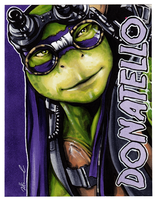#028 - Donatello [Teenage Mutant Ninja Turtles] by NessaSan