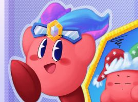 Double the Mirror Kirby by MixedUpMagpie
