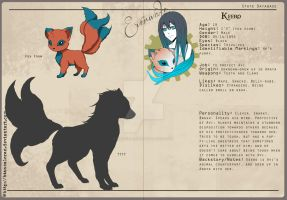 Keero - Character Profile by biancaloran