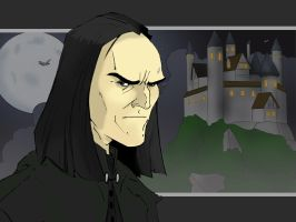 Snape-The Half Blood Prince by jksketch