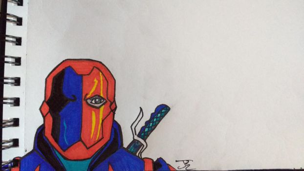 Young Justice style Deathstroke by ComicBookGoth