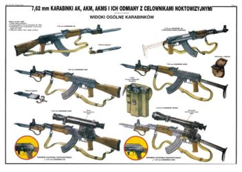 THE AK , THE AKM AND THE AKMS by mohamedfreezer