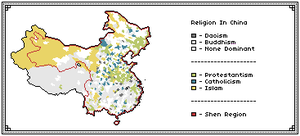 Info Maps: Religion by Mattystereo