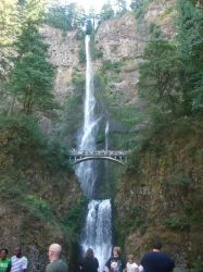 Multnomah Falls by hp-lover713