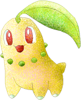 Chikorita -colour