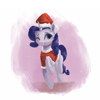Christmas Rarity by VanillaGhosties