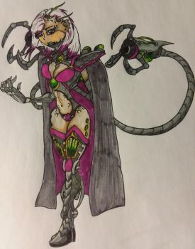 Esther, the Sonic Baroness by Tiera-The-Yordle