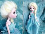 Elsa - Custom MH doll (Draculaura) by Katalin89