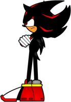Shadow The Hedgehog by Mr-Page