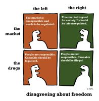 Disagreements on freedom by Velica
