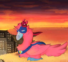 Sunset by Cylynix