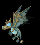 Frostwing whelp - small gif by Haalaesc