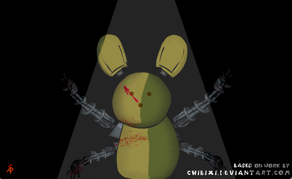 Peepachu as an ARSH Animatronic by ASerpentPerplexed