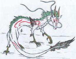 okamified Haku by toki999