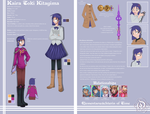Charactersheet - Kaira by AimaiLeafy