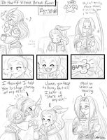 Starin' at Kuja's ass by sforzie
