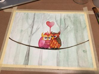 Two Hoots  by charmie