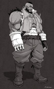 FFVII - Barret Wallace by Rousteinire